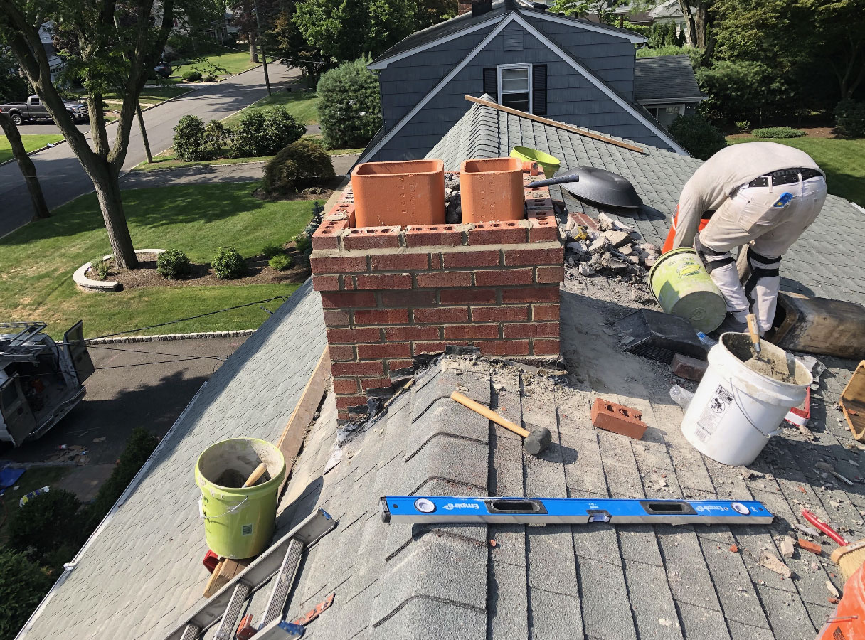 Chimney Repair Roofing Contractor Nj Siding Chimney