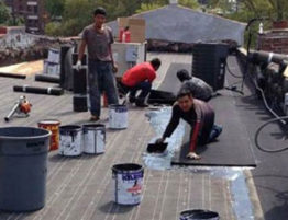 Commercial roof repair and installation